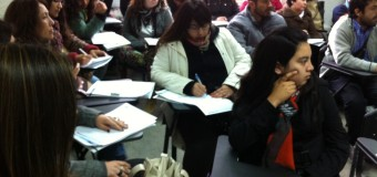 Equipo de Serpaj Coquimbo recibe capacitación en educación social