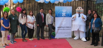 Dr. Simi visita Jardín Porteñitos y entrega donación a Serpaj- Chile