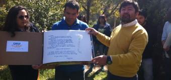 Niños y niñas de la Región de Coquimbo plasman sus sueños en el libro de La Paz