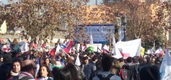 PDE Mario Benedetti adhiere a marcha y apoya demandas de profesores