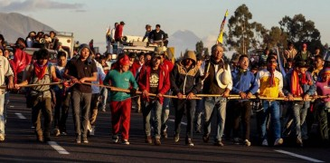 ECUADOR PROTESTAS