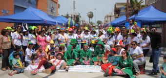 Más de 100 niños, niñas y sus familias participan del cierre de  la Campaña de Navidad en Serpaj Arica