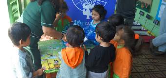 Jardín infantil Norteñito recibe juguetes no bélicos