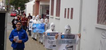 Serpaj Maule alerta sobre la falta de hospitales en la región en campaña contra el Gasto en Armas