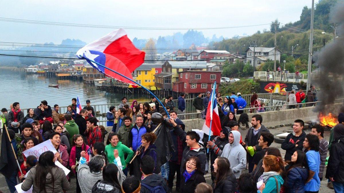 Serpaj Chile realiza un llamado al Gobierno al diálogo y al cese de intentos de militarización de la isla de Chiloé