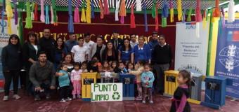 SBC Luis Pérez Aguirre entrega contenedores reciclables a Jardín Infantil Florcita del Desierto
