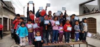 Entretenida celebración del día del niñ@ en Alto Hospicio