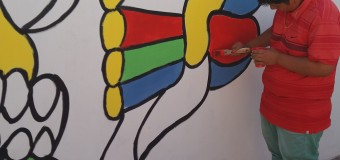 SERPAJ-Antofagasta: Un mural que relata la historia de un proceso