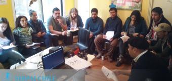 Equipos de SERPAJ Aysén se reunen en café diálogo #RecortemosElGastoMilitar