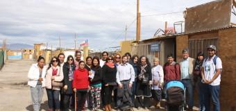 SERPAJ Antofagasta participa en brigada de apoyo social a Toma Frei Bonn de Calama