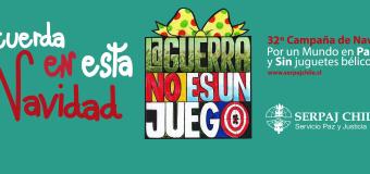 SERPAJ Aysén da el pie inicial a campaña de navidad #LaGuerraNoEsUnJuego