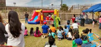 SERPAJ Arica: Niños y niñas del PRM Rigoberta Menchú celebran la navidad