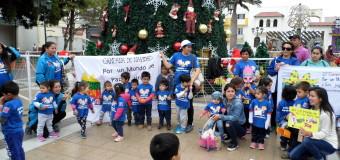 SERPAJ Coquimbo se toma las calles y dice #LaGuerraNoEsUnJuego