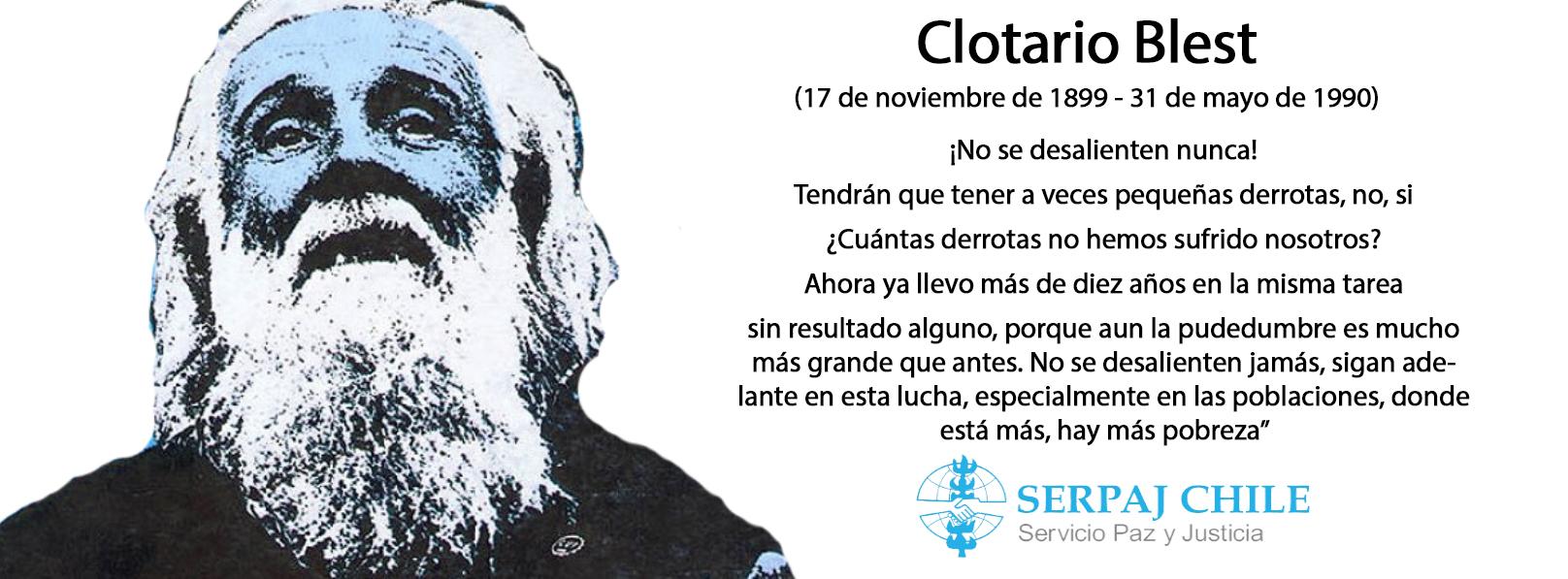 """Aniversario de la partida de Clotario Blest """"La acción y el ejemplo arrastra mucho más que la palabra Libertad"""""""