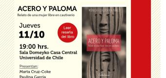 Lanzamiento del libro ACERO Y PALOMA: relato de una mujer libre en cautiverio