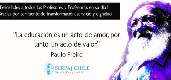 Día del Profesor y Profesora: La educación liberadora.
