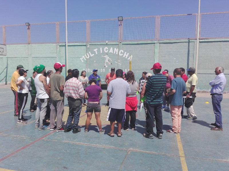 Profesionales de SERPAJ Antofagasta fortalecen habilidades