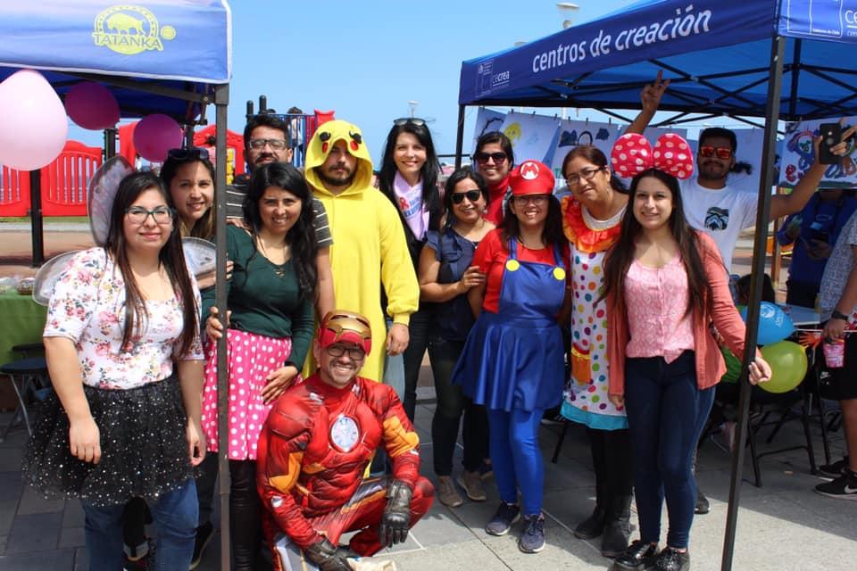 SERPAJ Tarapacá participó de feria de la Red Infanto Juvenil organizada por Sename