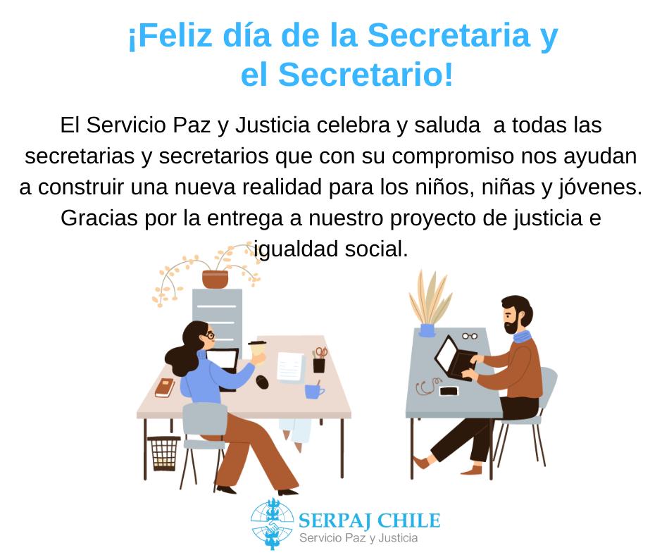 ¡Feliz Día de la Secretaria y el Secretario!