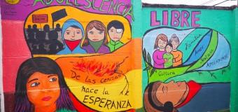 SERPAJ Los Lagos desarrolló taller de muralismo con niños, niñas y adolescentes