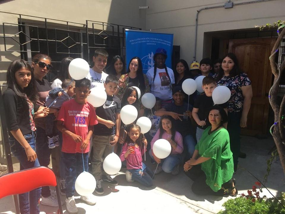 Con árbol de los deseos SERPAJ Antofagasta celebró hito de lanzamiento de la 34º Campaña de Navidad