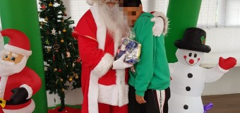 SERPAJ Coquimbo realizó fiesta navideña para celebrar junto a los niños, niñas y adolescentes