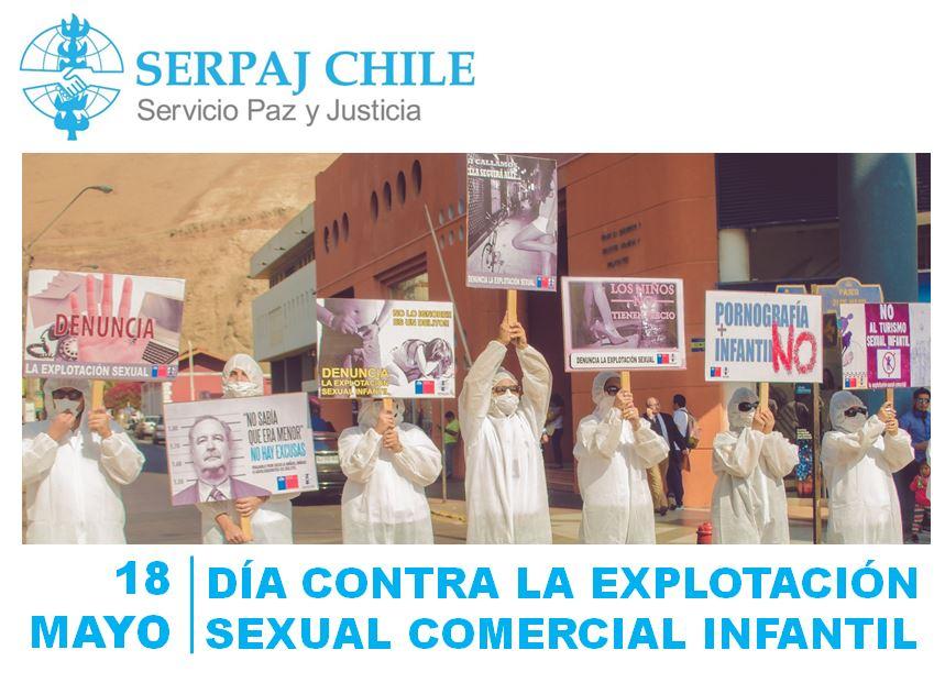 DÍA CONTRA LA EXPLOTACIÓN SEXUAL COMERCIAL INFANTIL