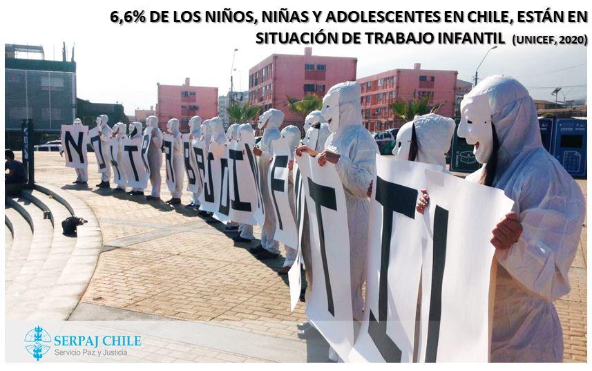 SERPAJ CHILE CONMEMORA EL DÍA CONTRA EL TRABAJO INFANTIL