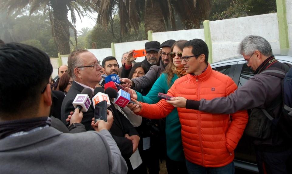 MINISTRO ARANCIBIA CONDENA A MIEMBROS DE LA ARMADA POR SECUESTRO
