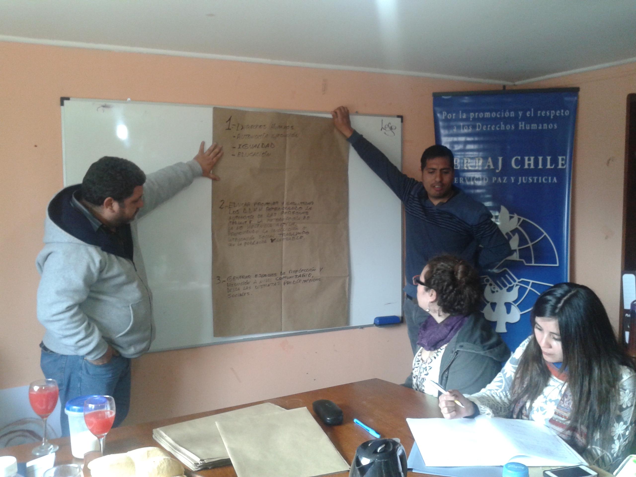 Equipos de Serpaj- Atacama realizan Jornada Reflexiva Institucional.