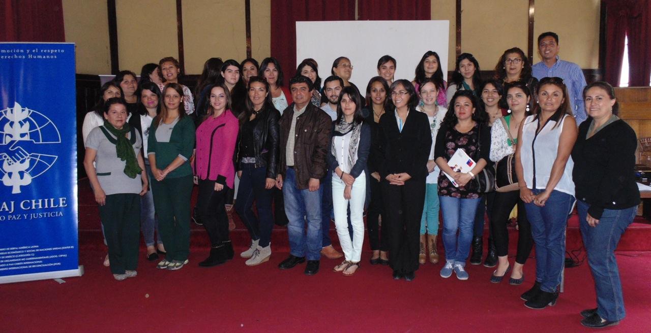 Con diversas actividades Serpaj Antofagasta celebró un nuevo aniversario institucional