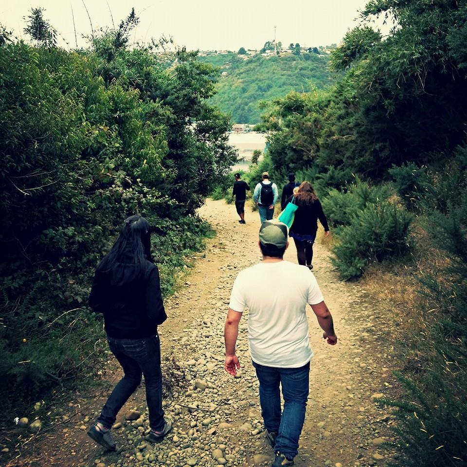 PEC Trekanche de Serpaj Los Lagos realizó paseo a isla Tenglo en Puerto Montt