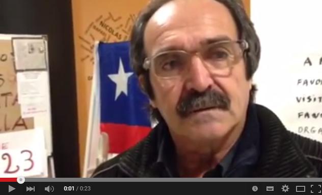 VIDEO: Ex presos políticos en huelga de hambre de Valparaíso difunden una pregunta a la presidenta Bachelet