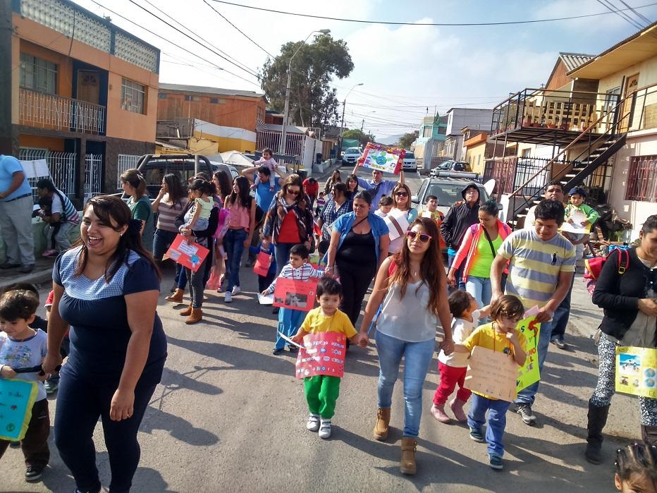 Jardín Rayito de Paz marchó con sus niños y niñas en el día mundial del medio ambiente