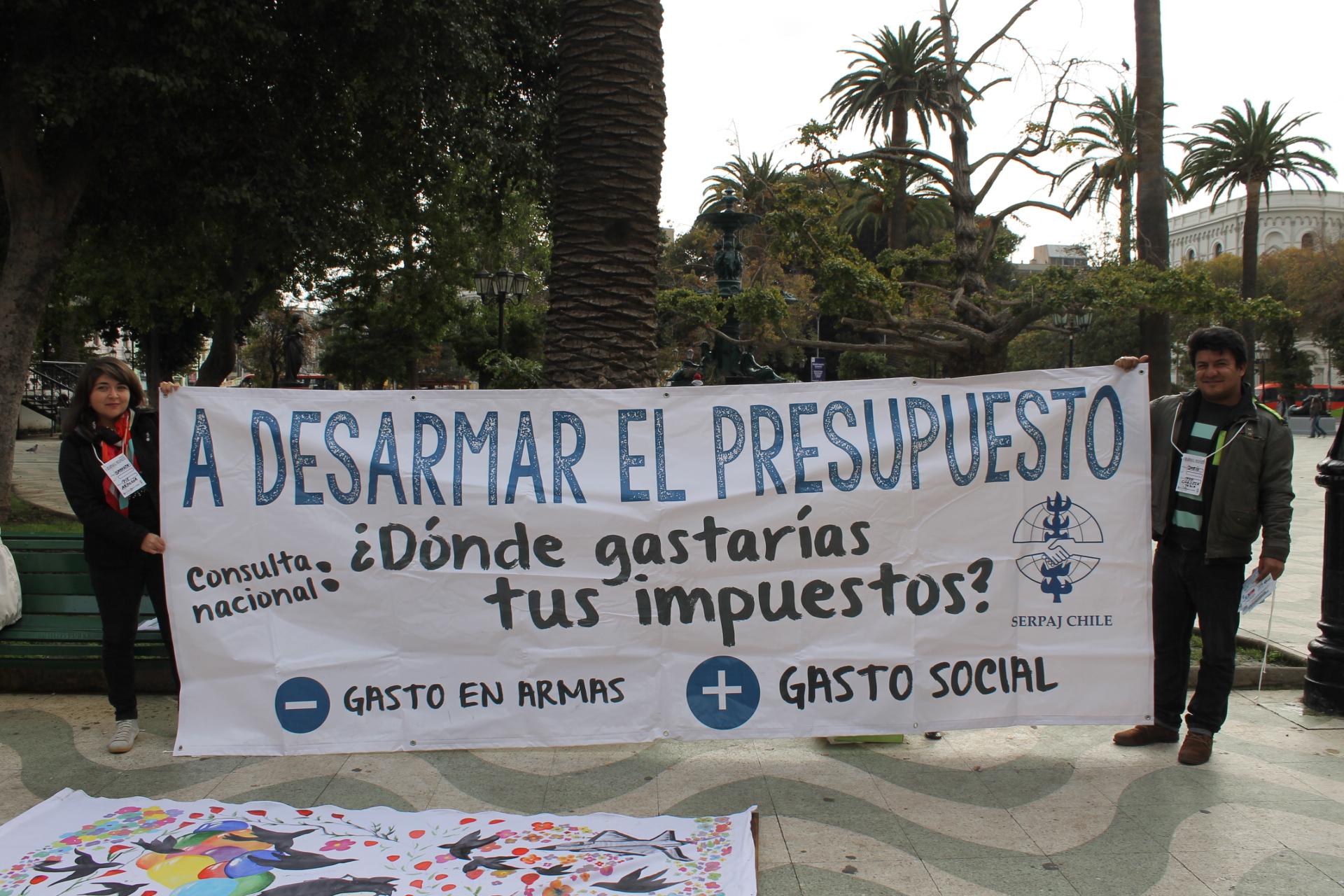 VIDEO: Día de Acción contra el Gasto Militar Serpaj Chile