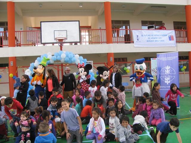 Programas Abriendo Caminos de Serpaj Tarapacá conmemoran el día de los niños y niñas