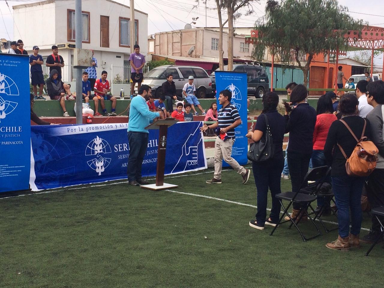 """Serpaj Arica realiza V Campeonato de Baby Fútbol """"Jugando por la paz"""""""