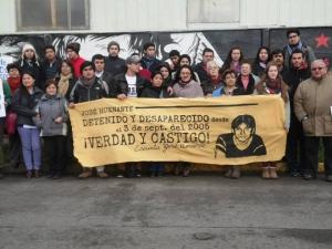 Declaración Serpaj Los Lagos: Desaparición de José  Huenante, Una década de Impunidad y Silencio