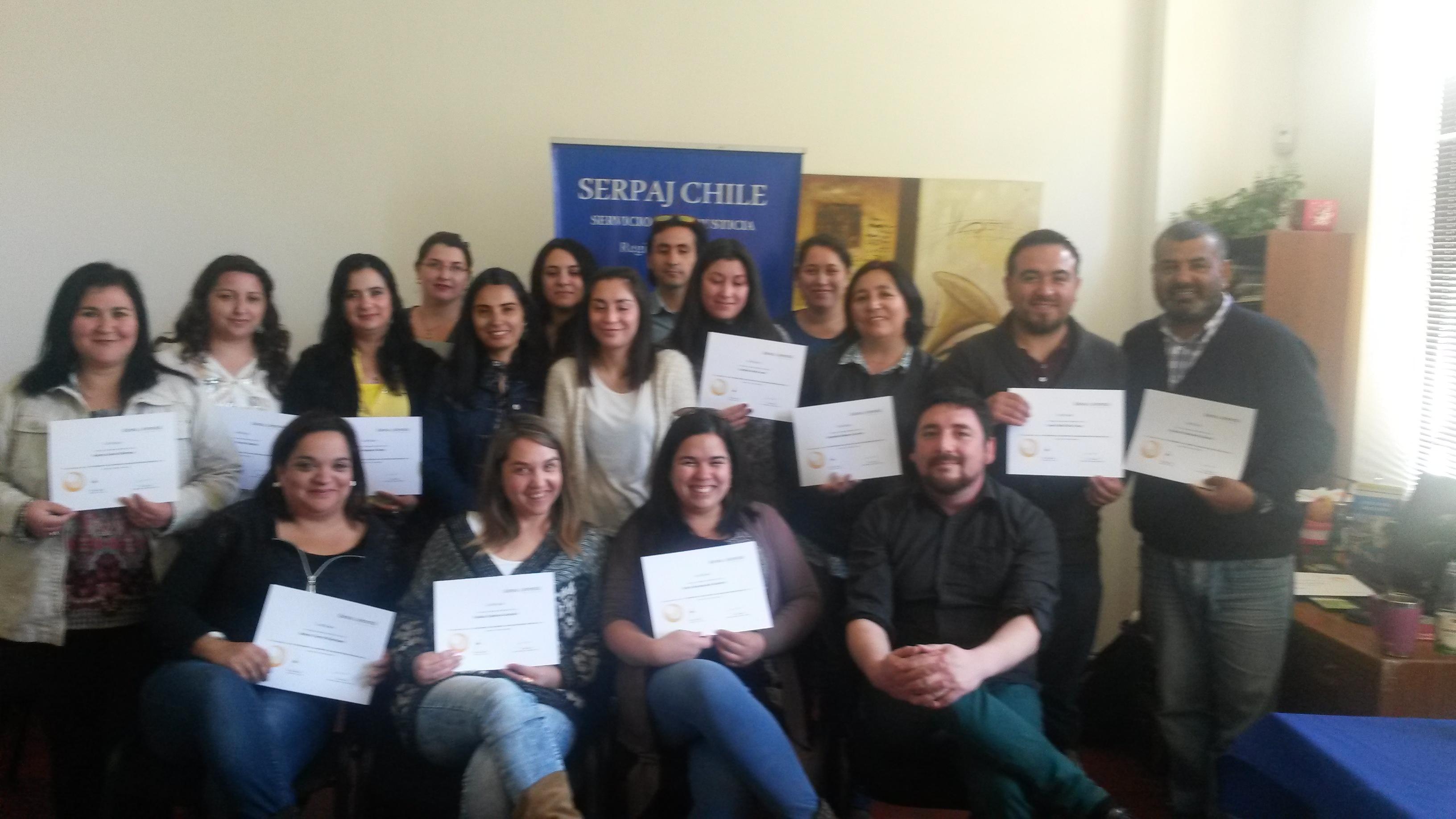 Profesionales del área justicia juvenil de Curicó se capacitan en trastornos de salud mental en jóvenes infractores