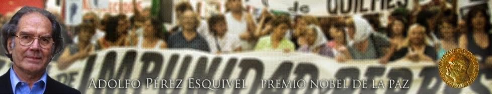 Adolfo Pérez Esquivel envía mensaje al presidente argentino Mauricio Macri