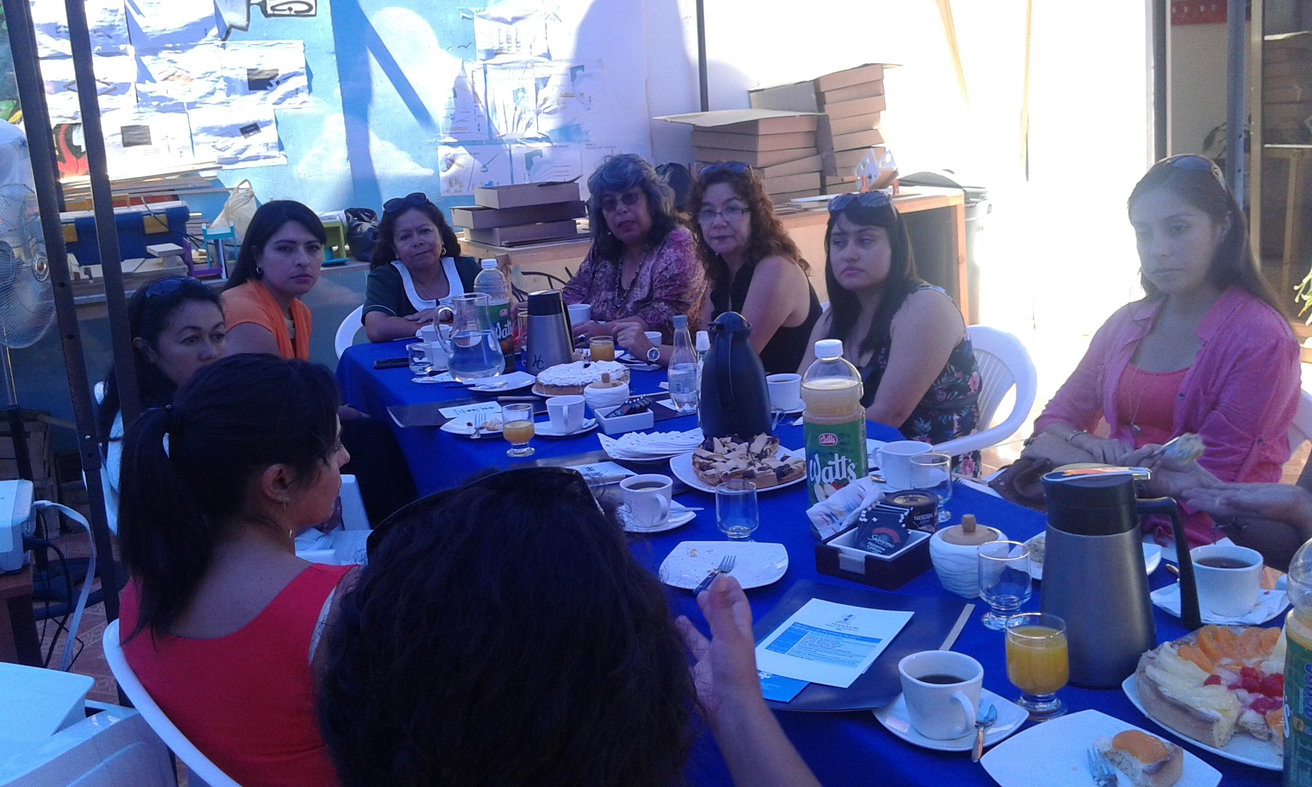 SBC de Serpaj Tarapacá participó en Mesa de Trabajo con otras organizaciones de la región