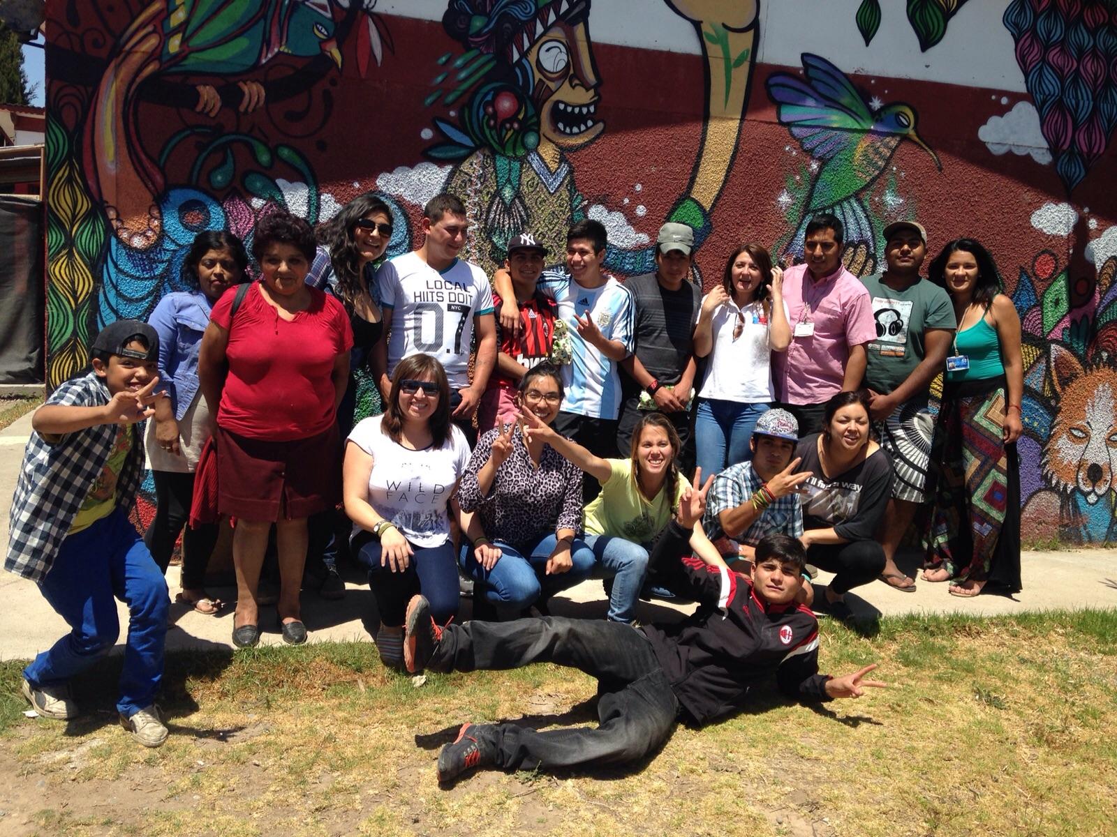 La Comunidad Terapéutica Fuerza Joven compartió un almuerzo navideño con autoridades regionales de SENDA