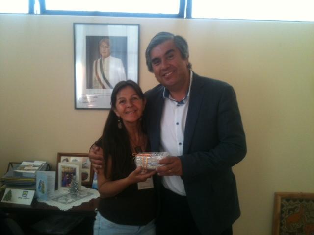 Serpaj Coquimbo firma convenio por una navidad sin juguetes bélicos con Municipio de Vicuña