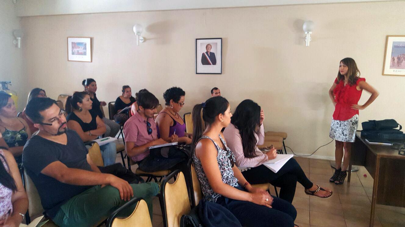 Exitosa capacitación sobre nuevo instrumento  de calificación Socioeconómica en Antofagasta