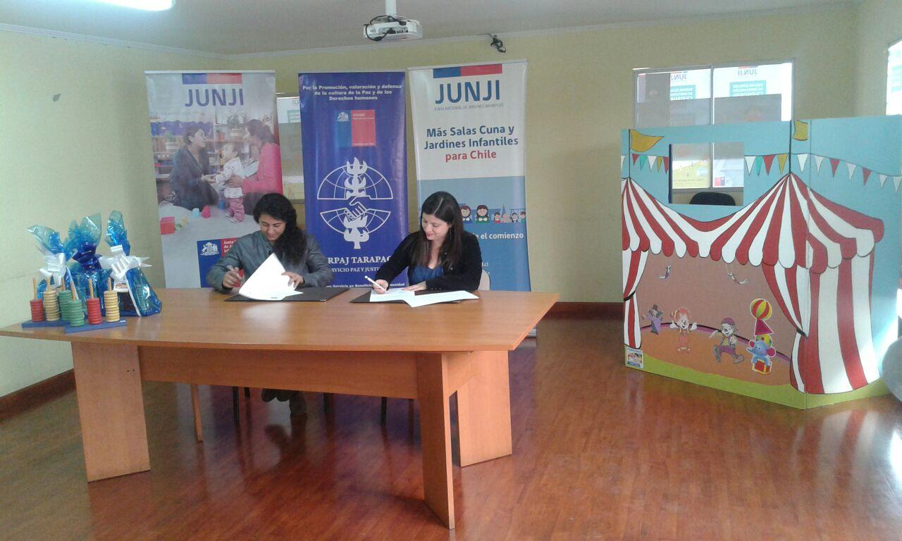 Nuevo convenio Serpaj – JUNJI abre nuevas oportunidades