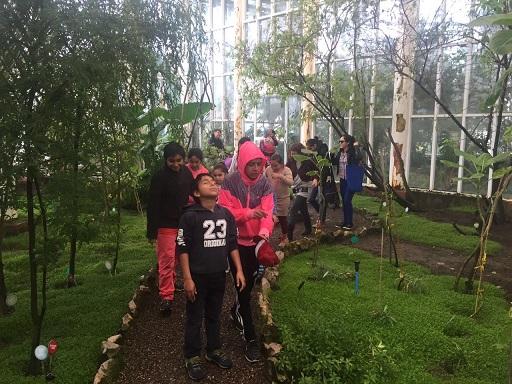 """PIE Clotario Blest de Antofagasta visita el Jardín Botánico en la actividad """"Disfrutando de la naturaleza """""""