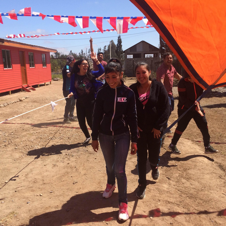 """Comunidad Terapéutica Fuerza Joven realiza actividad """"Sin Chicha, pero con empaná"""""""