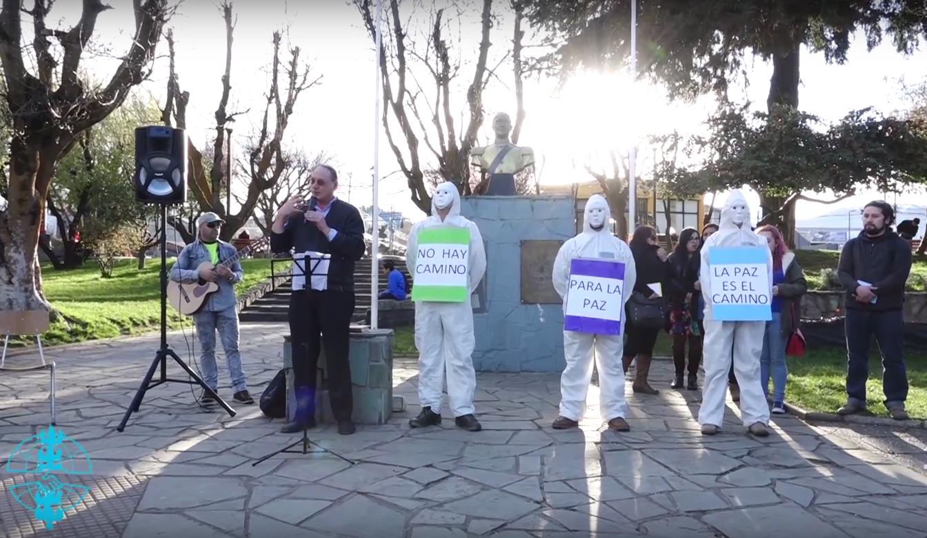 SERPAJ Aysén reune a comunidades de Fe en una oración en el día Internacional por la Paz