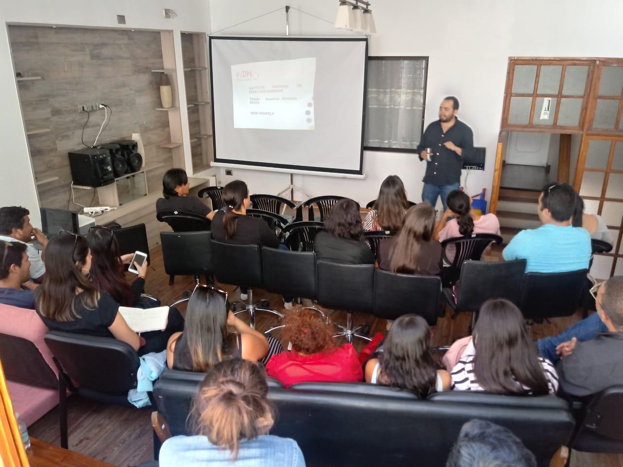 SERPAJ Tarapacá conmemoró Día Internacional de los Derechos Humanos con actividades reflexivas
