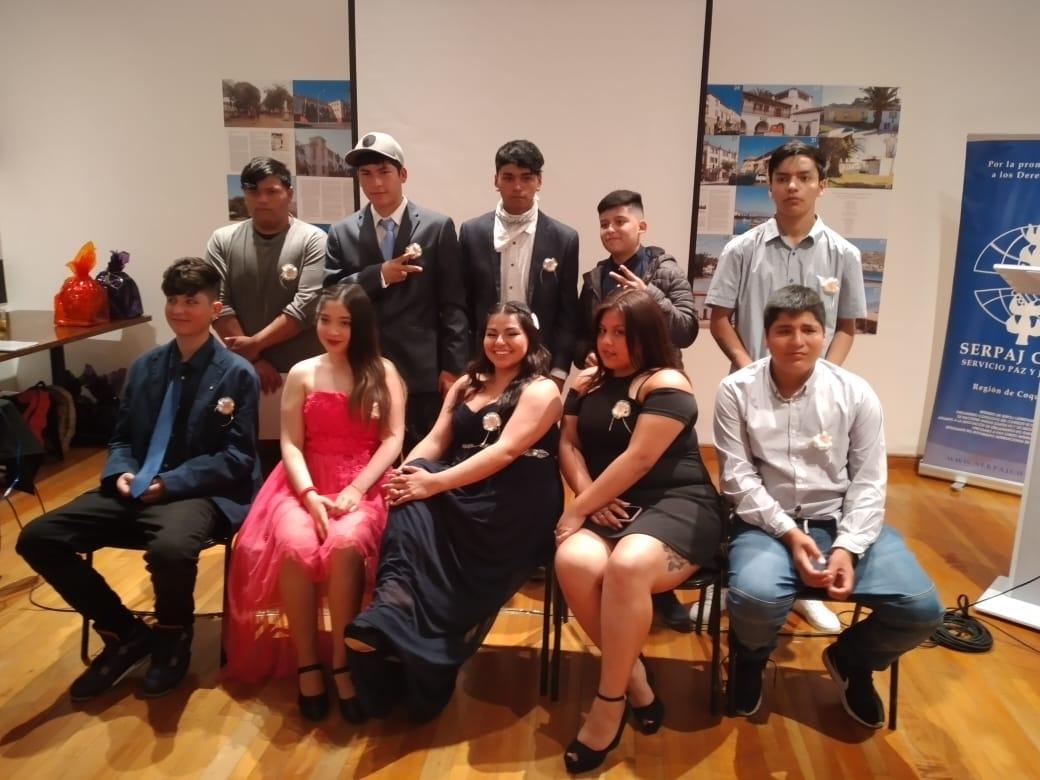 SERPAJ Coquimbo celebró exitoso egreso de los niños, niñas y adolescentes del Proyecto de Reinserción Educativa